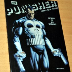 Cómics: CÓMIC TAPA DURA EN INGLÉS: THE PUNISHER - RETURN TO BIG NOTHING - EDITA: EPIC COMICS / MARVEL - 1989. Lote 77450229
