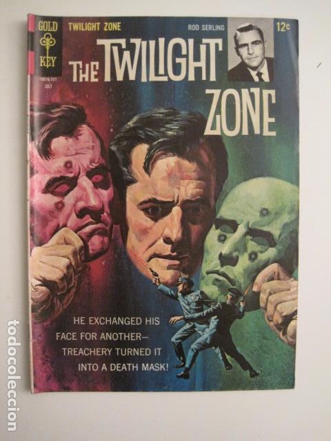 THE TWILIGHT ZONE - NO. 22 - JULIO 1967 - COMIC GOLD KEY -VER FOTOS - (V-9264) (Tebeos y Comics - Comics Lengua Extranjera - Comics USA)