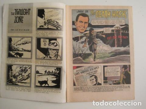 Cómics: THE TWILIGHT ZONE - NO. 22 - JULIO 1967 - COMIC GOLD KEY -VER FOTOS - (V-9264) - Foto 2 - 77802965