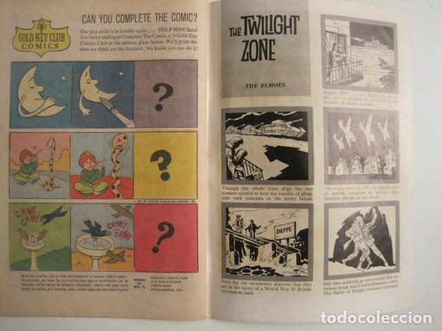 Cómics: THE TWILIGHT ZONE - NO. 22 - JULIO 1967 - COMIC GOLD KEY -VER FOTOS - (V-9264) - Foto 4 - 77802965