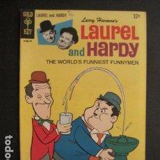 Cómics: LAUREL AND HARDY - NO. 2- 1967 - COMIC GOLD KEY -VER FOTOS - (V-9265). Lote 77803373