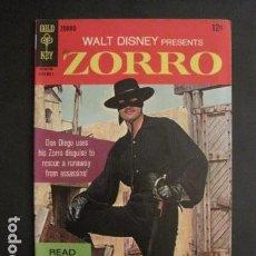 Cómics: ZORRO - NO. 7- SEPTIEMBRE 1967 - COMIC GOLD KEY -VER FOTOS - (V-9266). Lote 77803669