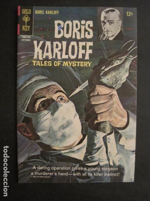 BORIS KARLOFF - NO. 19- SEPTIEMBRE 1967 - COMIC GOLD KEY -VER FOTOS - (V-9267) (Tebeos y Comics - Comics Lengua Extranjera - Comics USA)