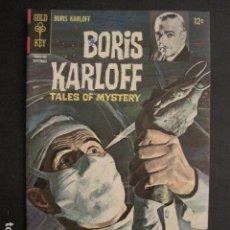 Cómics: BORIS KARLOFF - NO. 19- SEPTIEMBRE 1967 - COMIC GOLD KEY -VER FOTOS - (V-9267). Lote 77804061
