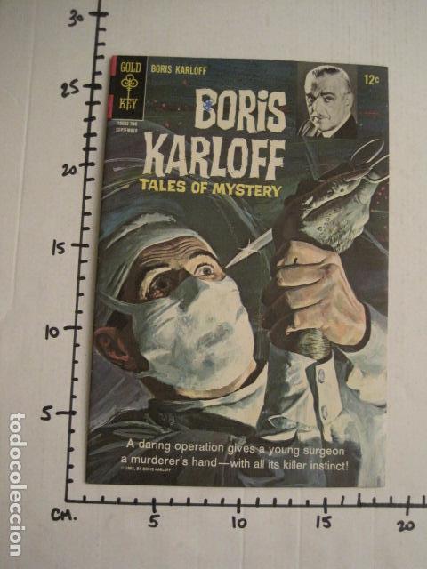 Cómics: BORIS KARLOFF - NO. 19- SEPTIEMBRE 1967 - COMIC GOLD KEY -VER FOTOS - (V-9267) - Foto 6 - 77804061