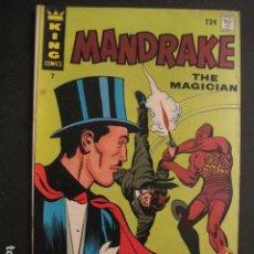 Cómics: MANDRAKE THE MAGICIAN - NO. 7 - AGOSTO 1967 - KING COMICS -VER FOTOS - (V-9273). Lote 77806605