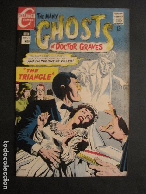 GHOSTS OF DOCTOR GRAVES - NO. 4 - NOVIEMBRE 1967 - CHARLTON COMICS -VER FOTOS - (V-9276) (Tebeos y Comics - Comics Lengua Extranjera - Comics USA)