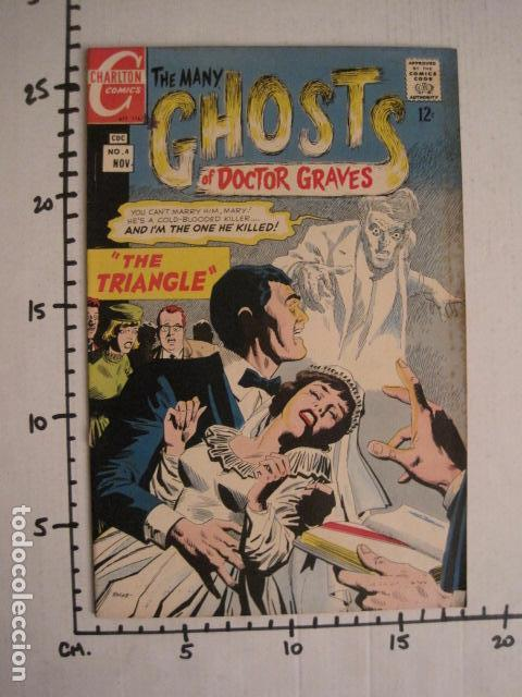 Cómics: GHOSTS OF DOCTOR GRAVES - NO. 4 - NOVIEMBRE 1967 - CHARLTON COMICS -VER FOTOS - (V-9276) - Foto 5 - 77807625