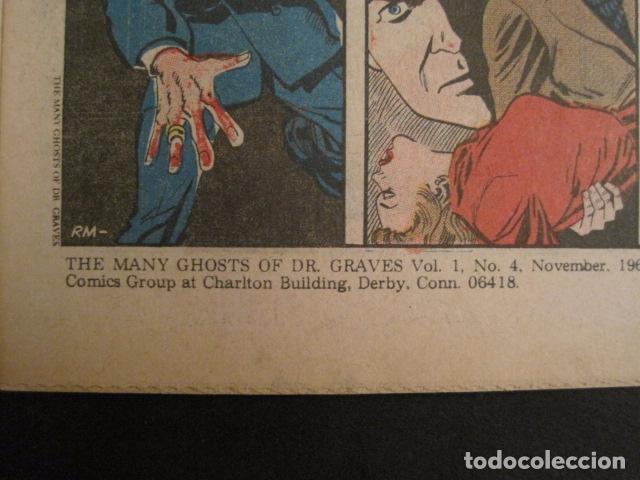 Cómics: GHOSTS OF DOCTOR GRAVES - NO. 4 - NOVIEMBRE 1967 - CHARLTON COMICS -VER FOTOS - (V-9276) - Foto 6 - 77807625