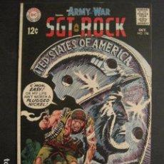Cómics: ARMY AT WAR - SGT ROCK - NO.198- OCTUBRE 1968 - DC COMICS -VER FOTOS - (V-9288). Lote 77823569