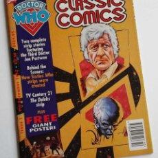 Cómics: OCASION NAVIDAD: DOCTOR WHO CLASSIC COMICS Nº 1, MAGAZINE CON HISTORIAS DE COUNTDOWN Y LOS DALEKS. Lote 143860208
