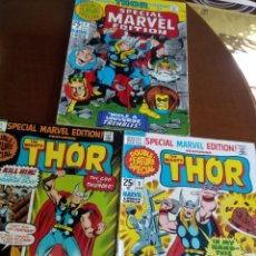 Cómics: SPECIAL MARVEL EDITION THOR N 1-2-3 USA AÑO 1971. Lote 80029757