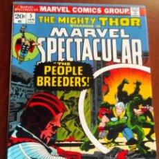 Cómics: THOR MARVEL SPECTACULAR N 5 USA AÑO 1974. Lote 80038789
