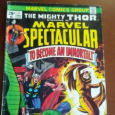 Cómics: THOR MARVEL SPECTACULAR N 7 USA AÑO 1974. Lote 80039013