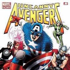 Cómics: UNCANNY AVENGERS OMNIBUS -MARVEL COMICS 2015- REMENDER CASSADAY COIPEL ACUÑA MCNIVEN 672 PÁG.. Lote 80259341