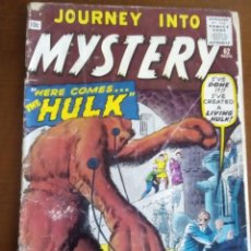 Cómics: JOURNEY INTO MYSTERY N 62 AÑO 1960. Lote 80546882