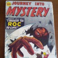 Cómics: JOURNEY INTO MYSTERY N 71 USA AÑO 1961. Lote 80563138