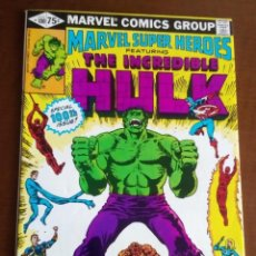 Cómics: HULK MARVEL SUPERHEROES N 100 USA AÑO 1981. Lote 80727742