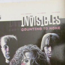 Cómics: THE INVISIBLES. COUNTING TO NONE DE G. HARRISON, P.JIMÉNEZ Y J.STOKES (DC COMICS). Lote 81029684