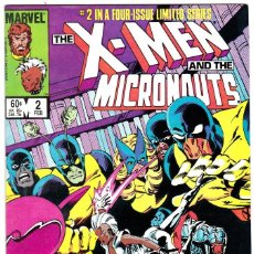 Cómics: MARVEL 1984 THE X-MEN AND THE MICRONAUTS Nº 2. Lote 81955692
