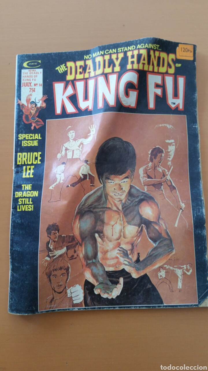 KUNG FU DEADLY HANDS OF KUNG FU. NÚMERO 14 . 1975 (Tebeos y Comics - Comics Lengua Extranjera - Comics USA)