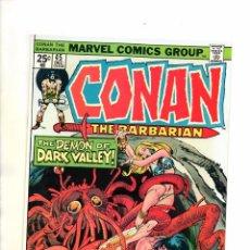 Cómics: CONAN THE BARBARIAN 45 - MARVEL 1974 - JOHN BUSCEMA & NEAL ADAMS - VFN/NM. Lote 83495068