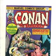 Cómics: CONAN THE BARBARIAN 46 - MARVEL 1975 - JOHN BUSCEMA - VFN. Lote 83495392