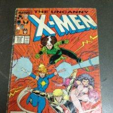 Cómics: X MEN THE UNCANNY MARVEL USA N 218 AÑO 1987. Lote 84782236