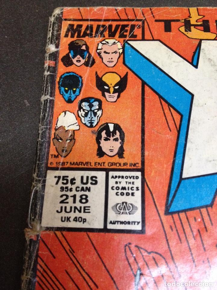Cómics: X Men the uncanny marvel usa n 218 año 1987 - Foto 2 - 84782236