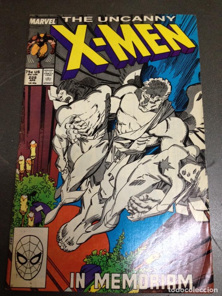 X MEN THE UNCANNY MARVEL USA NÚM 228 (Tebeos y Comics - Comics Lengua Extranjera - Comics USA)