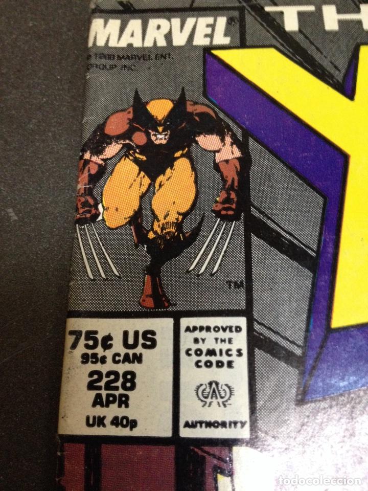 Cómics: X men the uncanny marvel usa núm 228 - Foto 2 - 84782531