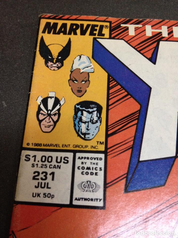 Cómics: X men the uncanny marvel usa núm 231 - Foto 2 - 84782630
