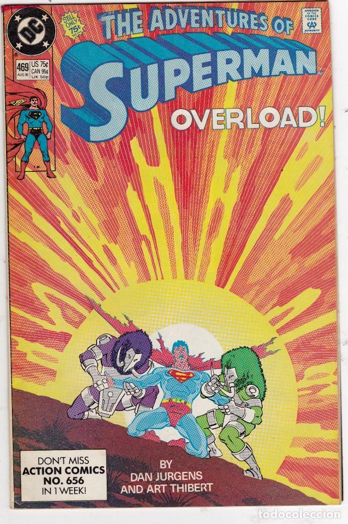 DC COMICS THE ADVENTURES OF SUPERMAN_ VOLUME 1 # 469 (Tebeos y Comics - Comics Lengua Extranjera - Comics USA)