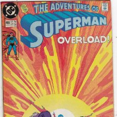 Cómics: DC COMICS THE ADVENTURES OF SUPERMAN_ VOLUME 1 # 469. Lote 85081404