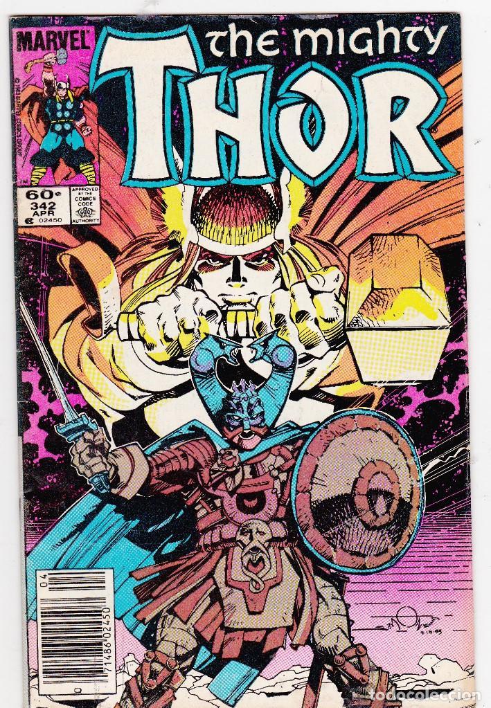 THE MIGHTY THOR VOL1 # 342 - MARVEL 1984 (Tebeos y Comics - Comics Lengua Extranjera - Comics USA)