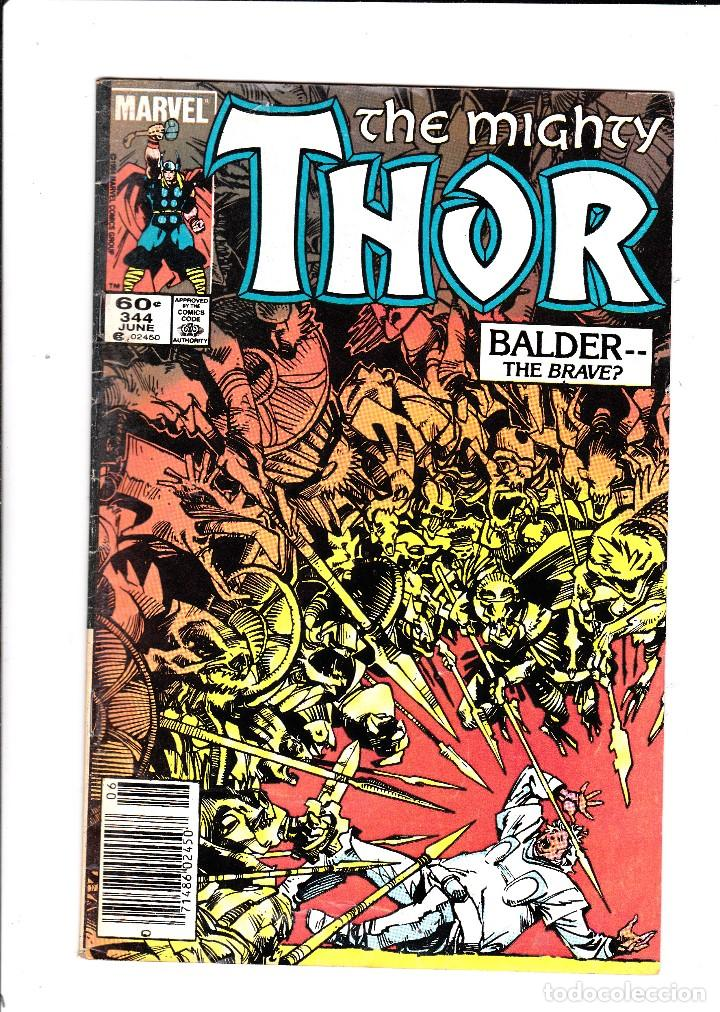 THE MIGHTY THOR VOL1 # 344 - MARVEL 1984 (Tebeos y Comics - Comics Lengua Extranjera - Comics USA)