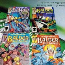 Cómics: BALDER THE BRAVE 1 2 3 4 COMPLETA - MARVEL 1985 -. Lote 85183498