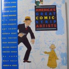 Cómics: AMERICA´S GREAT COMIC-STRIP ARTISTS. RICHARD MARSCHALL. ABBEVILLE PRESS-NEW YORK. PERFECTO ESTADO. Lote 86339464