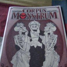 Cómics: CORPUS MONSTRUM . Lote 86489192