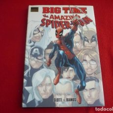 Cómics: THE AMAZING SPIDERMAN 648-651 BIG TIME ( SLOTT RAMOS ) ¡COMO NUEVO! EN INGLES TAPA DURA MARVEL. Lote 86900556