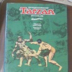 Cómics: TARZAN IN COLOR. EDGAR RICE BURROUGHS'. HOGARTH. VOLUMEN 13. (1943 - 1944). FLYING BUTTRESS.. Lote 87119100