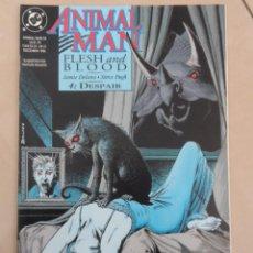 Cómics: ANIMAL MAN (1988) #54 - POSIBLE ENVÍO GRATIS-FLESH & BLOOD 4 DESPAIR- DC- JAMIE DELANO & STEVE PUGH. Lote 87526188