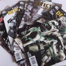 Cómics: BATMAN DETECTIVE COMICS LOTE DE 8 NUMEROS ORIGINAL DC COMIS. Lote 88111524