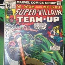 Cómics: SUPER-VILLAIN TEAM-UP. Nº 11. MARVEL.. Lote 88137932