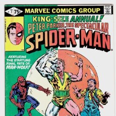 Cómics: PETER PARKER THE SPECTACULAR SPIDERMAN KING SIZE ANNUAL #3 1981. Lote 88276996
