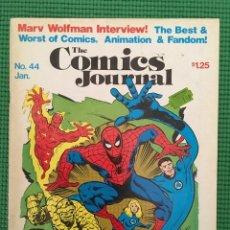 Cómics: THE COMICS JOURNAL Nº 44 - 1979 -. Lote 88316680