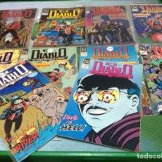 Cómics: EL DIABLO DC LOTE 1/9 Y 14. Lote 88741319