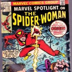 Cómics: MARVEL SPOTLIGHT #32-SPIDER-WOMAN ORIGIN-NICK FURY-1977. Lote 89436770