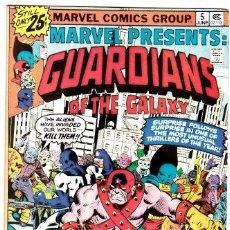 Cómics: MARVEL PRESENTS #5, GUARDIANS OF THE GALAXY, 1976 . Lote 88929732