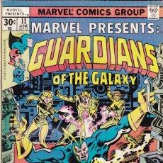 Cómics: MARVEL PRESENTS #11, GUARDIANS OF THE GALAXY, 1976. Lote 88929988